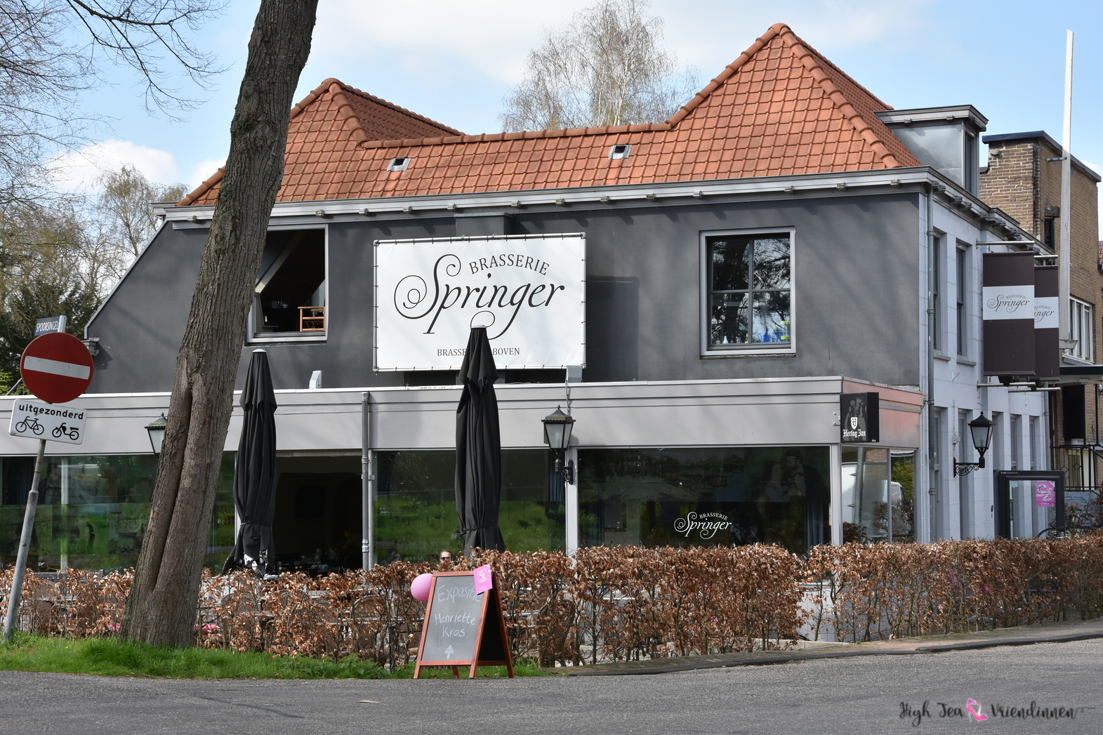 high tea vriendinnen, brasserie springer