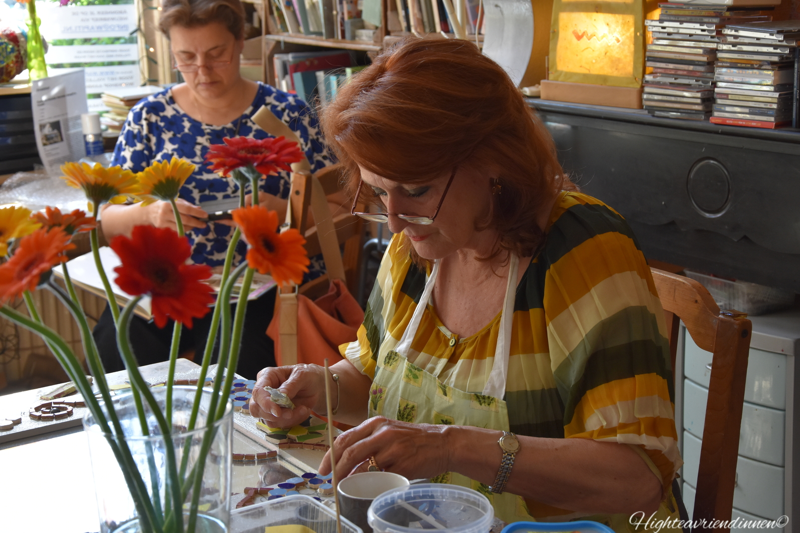 Wapiti, high tea vriendinnen, workshops