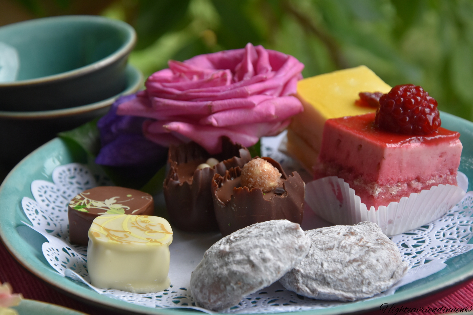 millinger theetuin, high tea vriendinnen, high tea