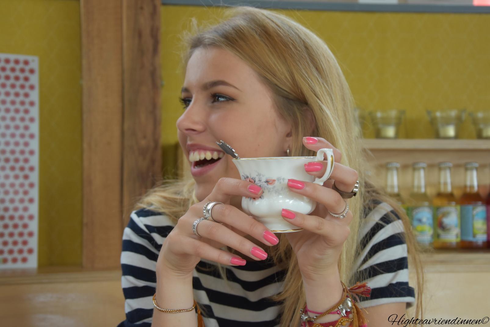 Kleischuur Gouda, high tea vriendinnen