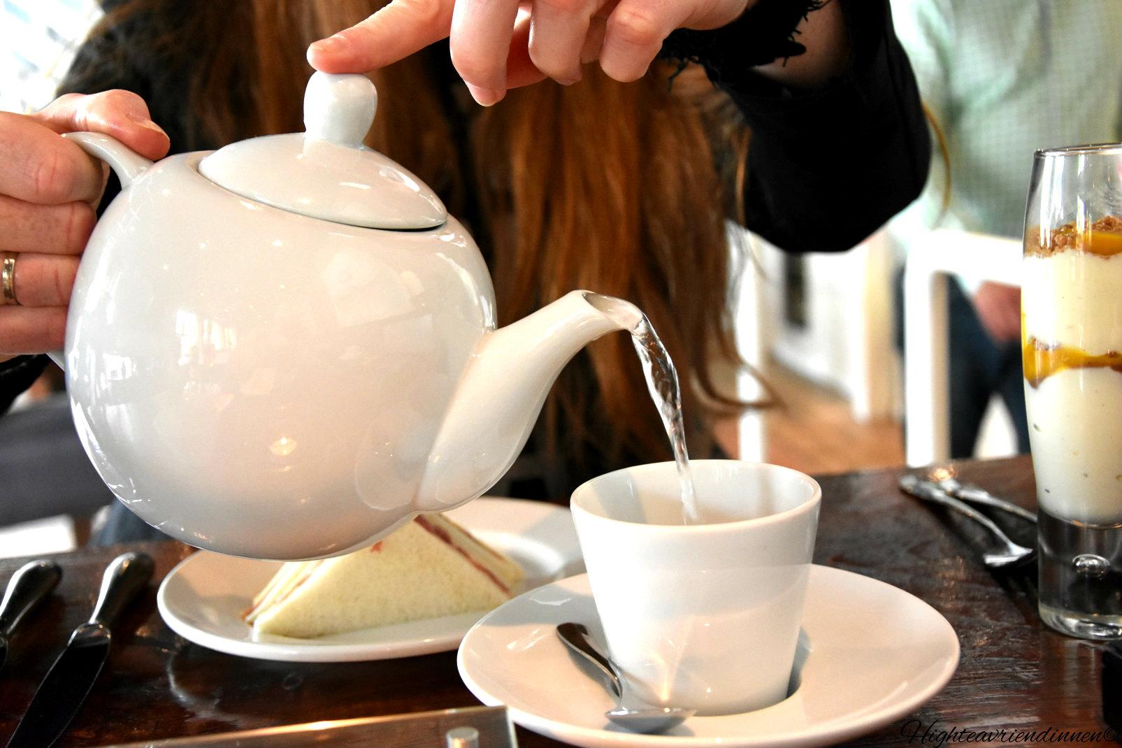 Alfreds, high tea vriendinnen, high tea