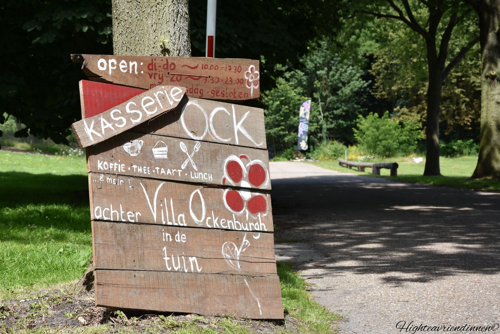 OCK, Villa Ockenburg, Landgoed Ockenburg, high tea vriendinnen
