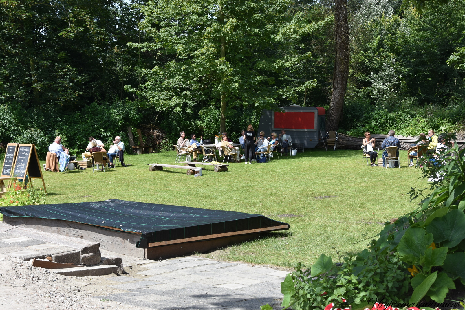 Buitenplaats Ockenburg, Open podium, high tea vriendinnen