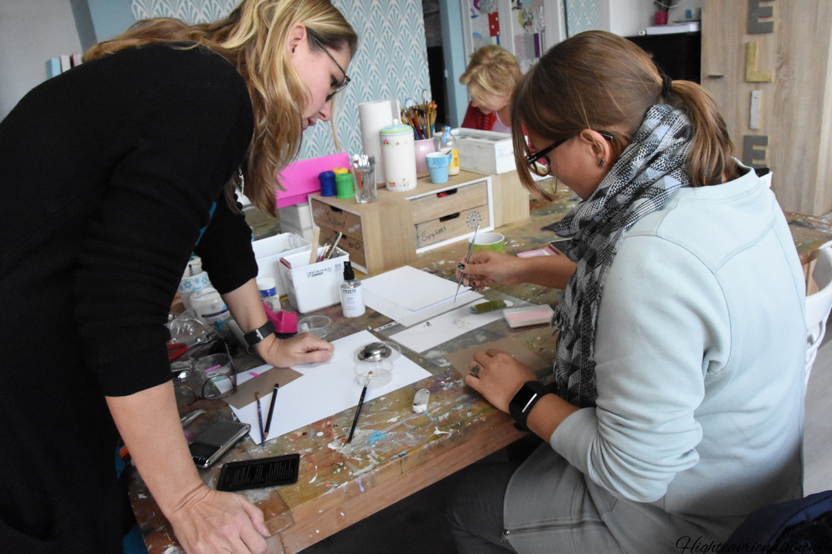 het kleurenspel, art clay silver workshops, mixed-media workshop, high tea vriendinnen