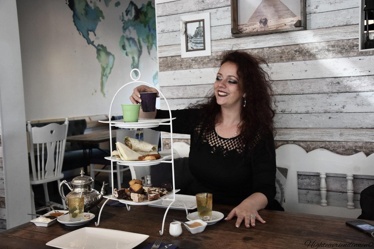 Eten bij Werelds, High tea Eten bij Werelds, high tea vriendinnen, high tea